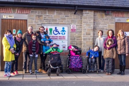 Ettie and Alison's campaign for Changing Places in Somerset