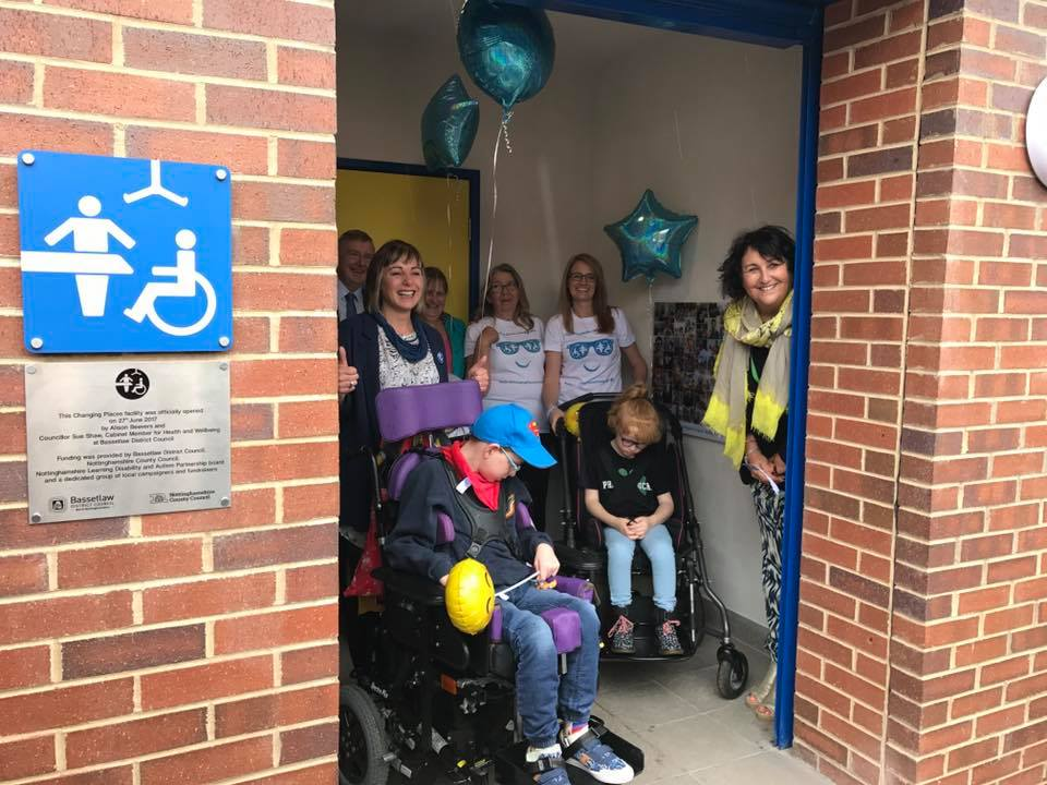 Alison and Mylor's campaign for Changing Places in Nottinghamshire