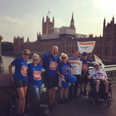 135 miles for Changing Places!