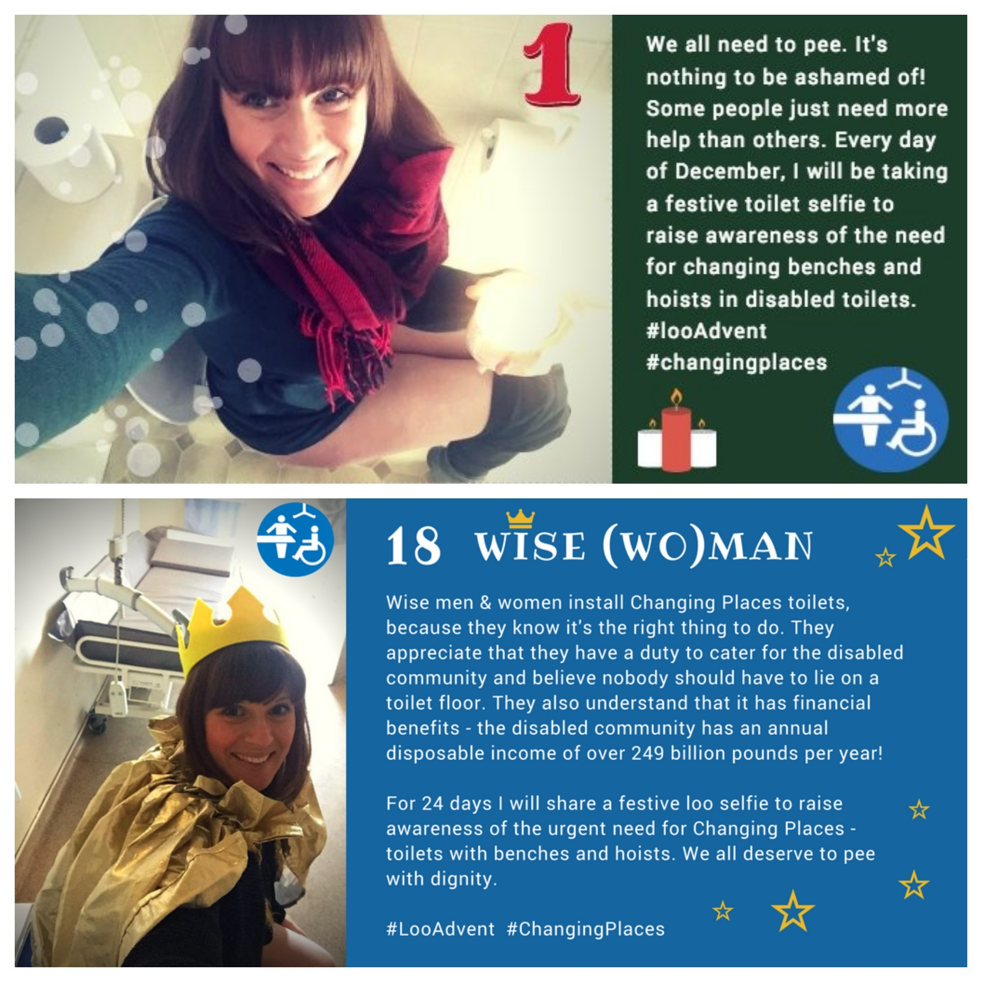 #LooAdvent awareness campaign