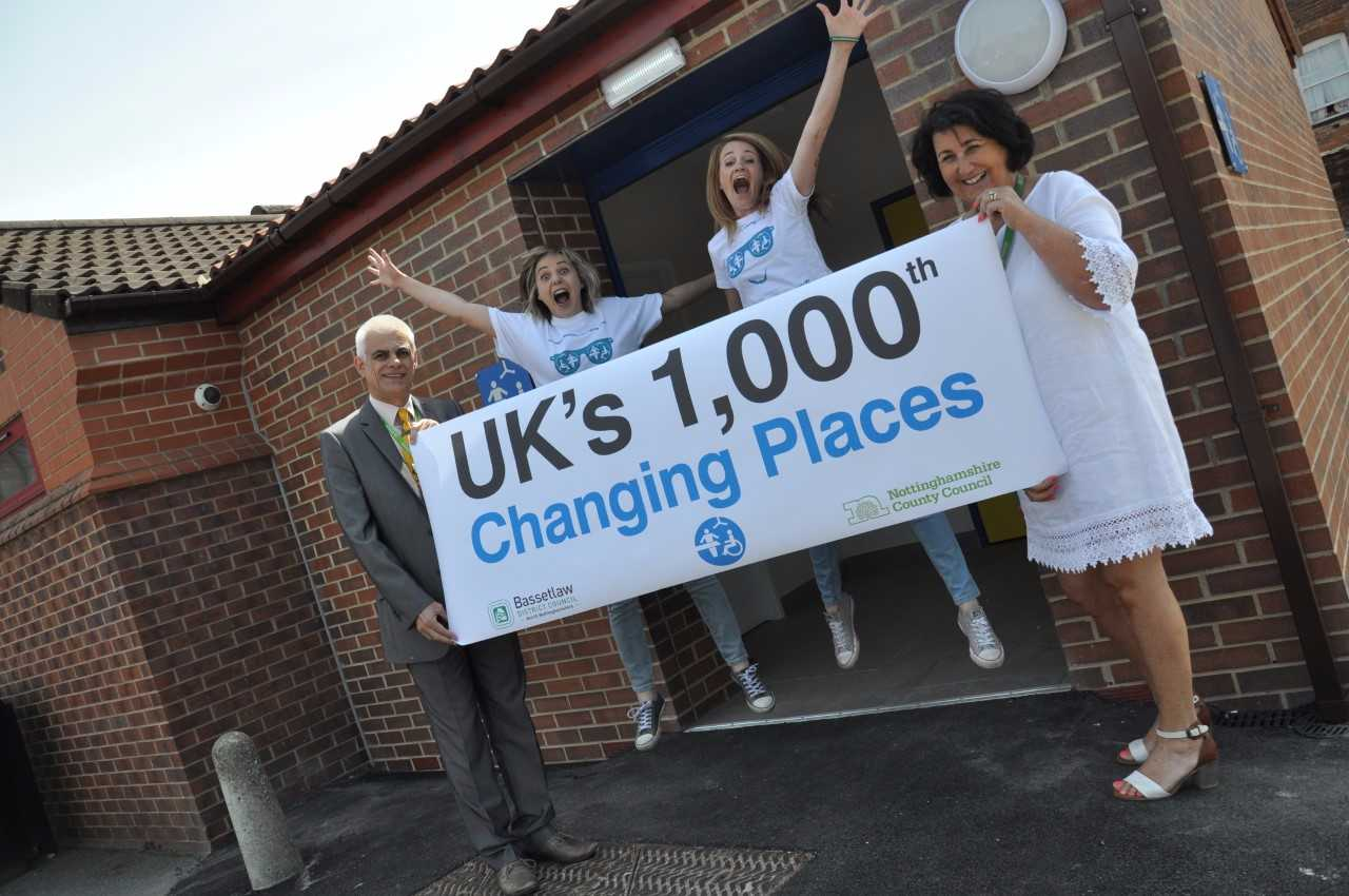 The 1000th Changing Places toilet!